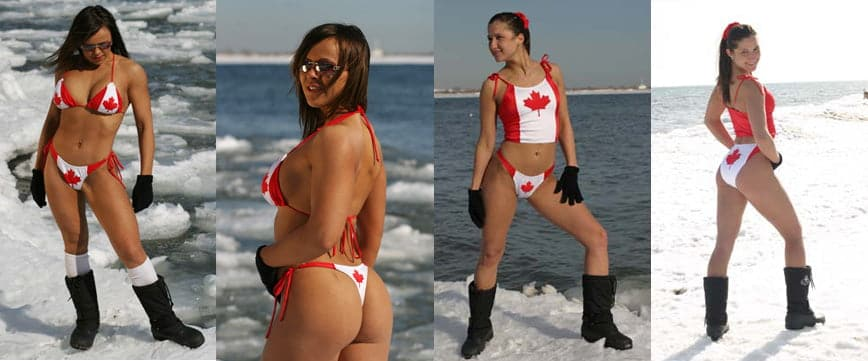 Unabashedly Canadian Swimwear Line