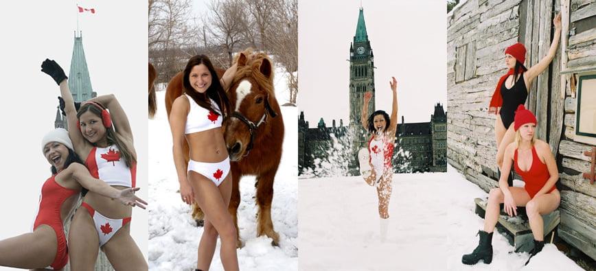 Unabashedly Canadian Swimwear Line