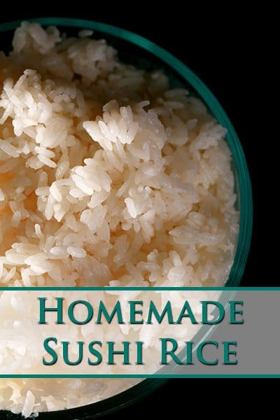 Homemade Sushi Rice