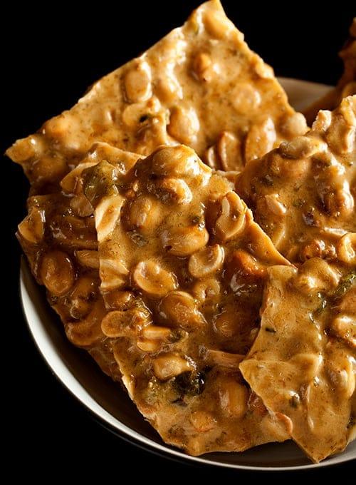 Jalapeno-Beer Peanut Brittle