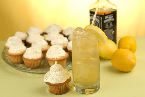 Lynchburg Lemonade Cupcakes