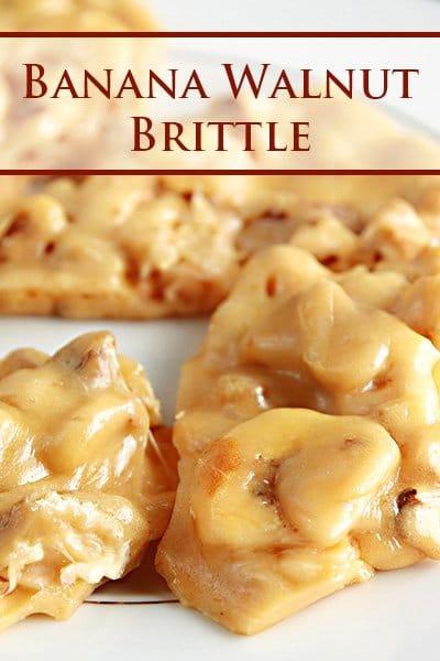Banana Walnut Brittle