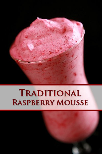 Traditional Raspberry Mousse