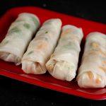 Curried Shrimp Spring Rolls