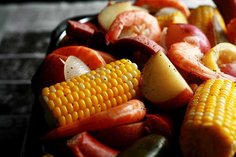 Marie's Low Country Boil
