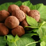 Hop Flavoured Dark Chocolate Truffles