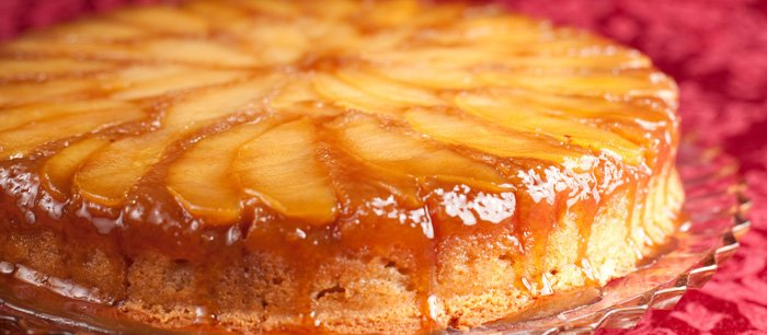 apple upside down cake brandied apple cake recipe celebration 1351