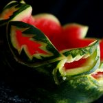 Caladium Style Watermelon Bowl Tutorial