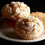 Cardamom Pear Streusel Muffins