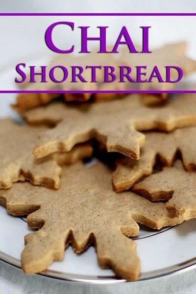 Chai Shortbread