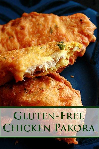 Gluten-Free Chicken Pakora