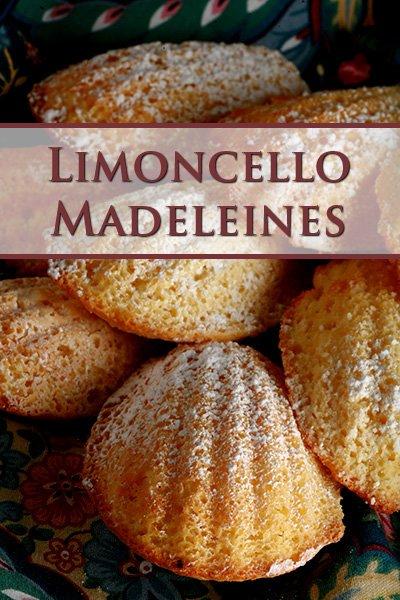 Limoncello Madeleines
