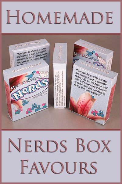 Custom Nerds Favours
