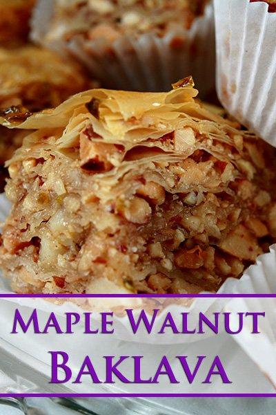Maple Walnut Baklava