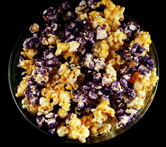 Fruity Glazed Popcorn