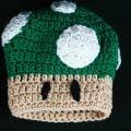 Free Crochet Pattern: 1 Up Mushroom Hat
