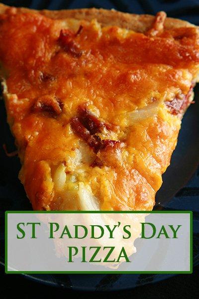 St Patrick's Day Pizza