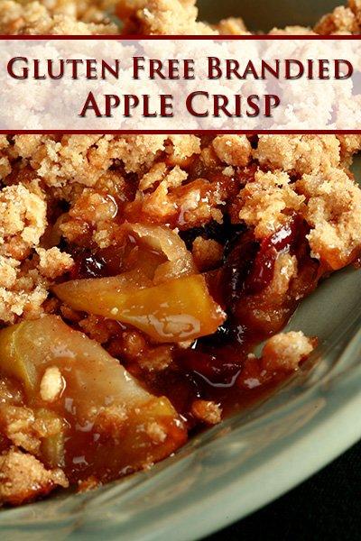 Gluten-Free Brandied Apple Crisp