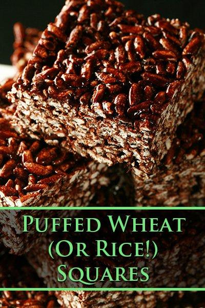 Puffed Wheat - Or Rice - Bars