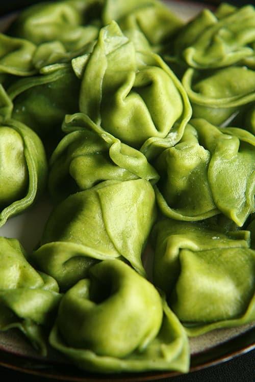 """Spanakopita"" Spinach Tortellini"