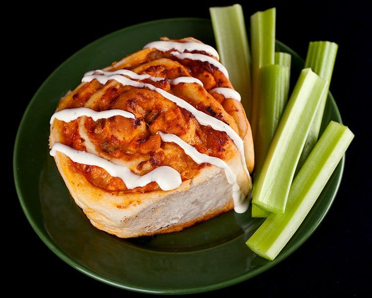 Buffalo Chicken Buns