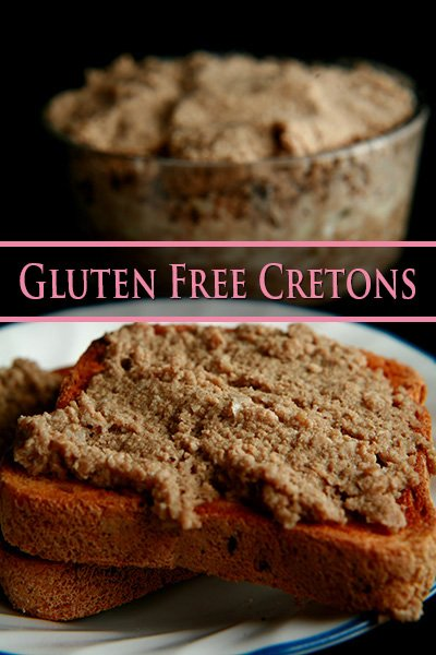 Gluten Free Cretons Recipe