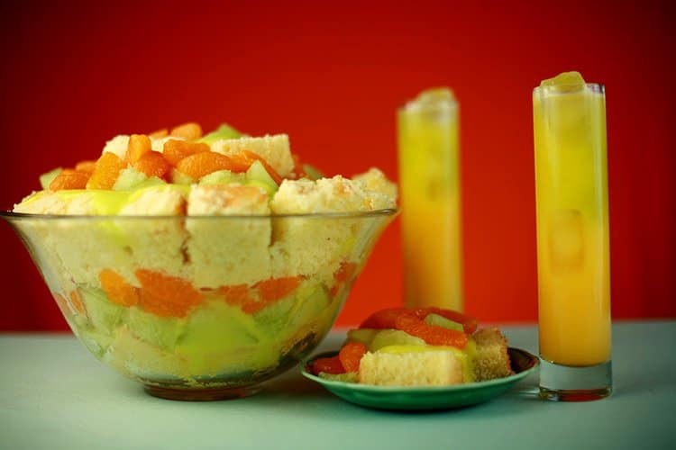 Melon Ball Trifle