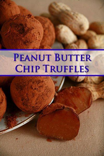 Peanut Butter Chip Truffles