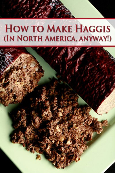 How to Make Haggis - In North America