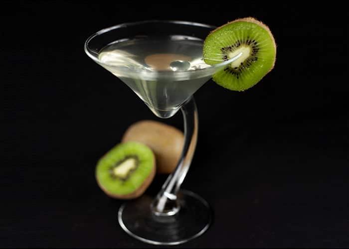 Homemade Kiwi Liqueur