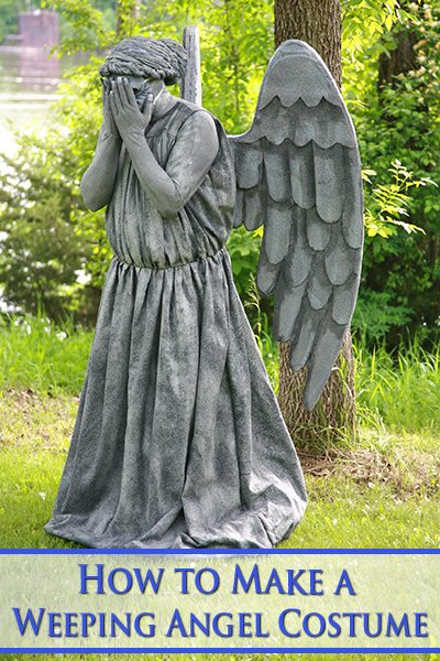 How to Make a Weeping Angel Costume