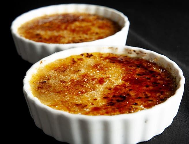 Boozy Crème Brûlée