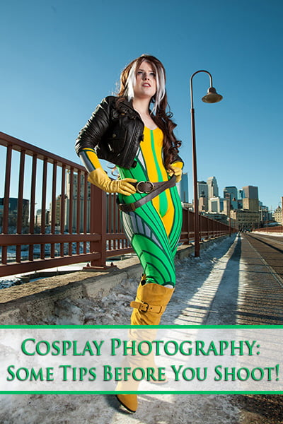 Cosplay Photography - Some Tips Before You Shoot!