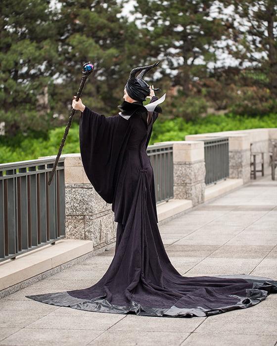 The Maleficent Movie Costume