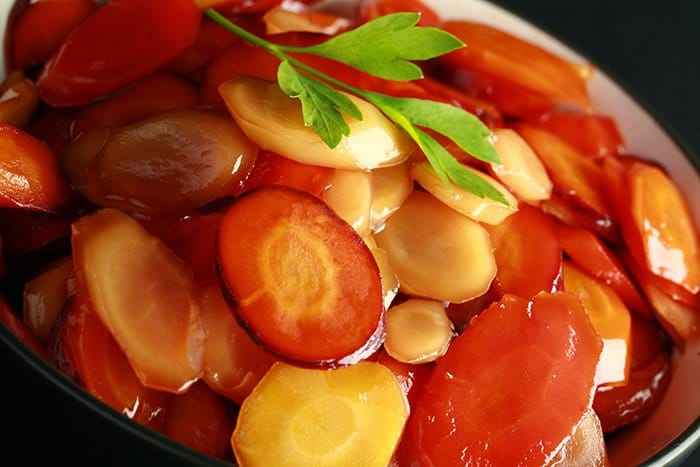 Maple Bourbon Glazed Carrots Recipe
