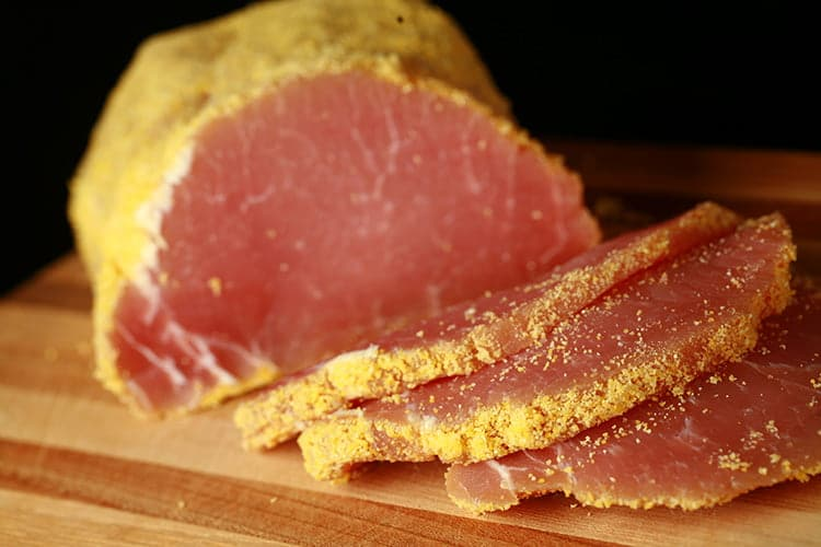 Homemade Peameal Bacon and Back Bacon
