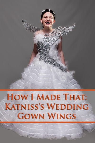 "How I Made That: Katniss's ""Catching Fire"" Wedding Gown Wings"