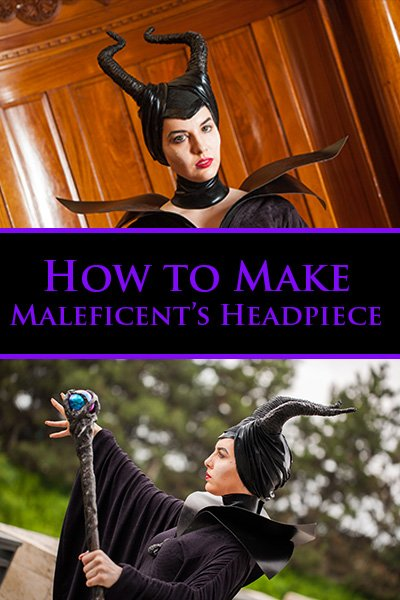 Diy Maleficent Horns Headpiece