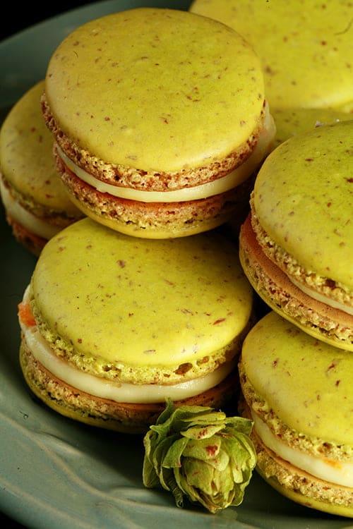 Hoppy Citrus French Macarons