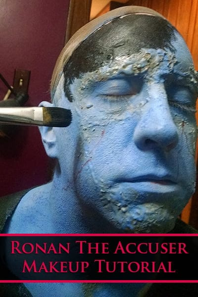 Ronan The Accuser Makeup Tutorial