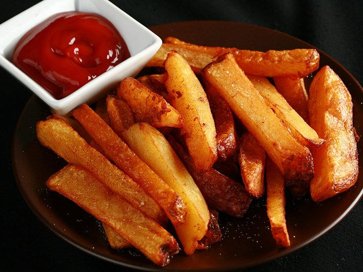 Homemade Smoked French Fries