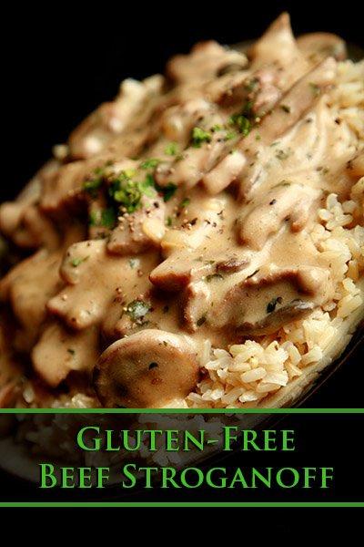 Gluten-Free Beef Stroganoff