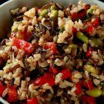 Wild Rice and Edamame Salad