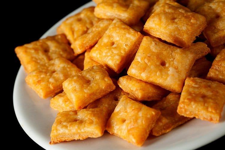 Gluten-Free Cheese Crackers