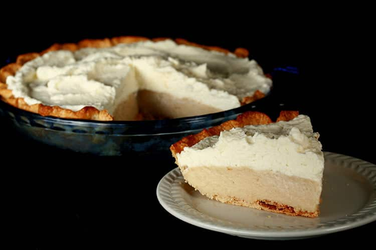 Gluten-Free Earl Grey Cream Pie
