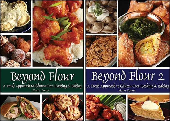 Cover images for Beyond Flour and Beyond Flour 2