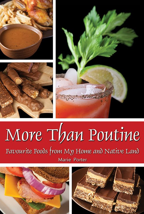 More Than Poutine Canadian cookbook cover