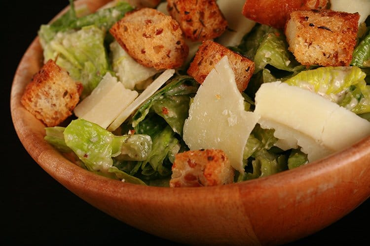 """Extreme"" Caesar Salad Recipe"