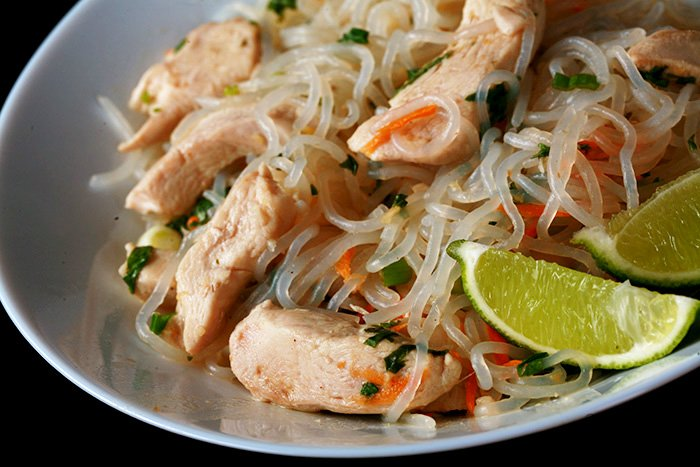 AIP Paleo Chicken Pad Thai
