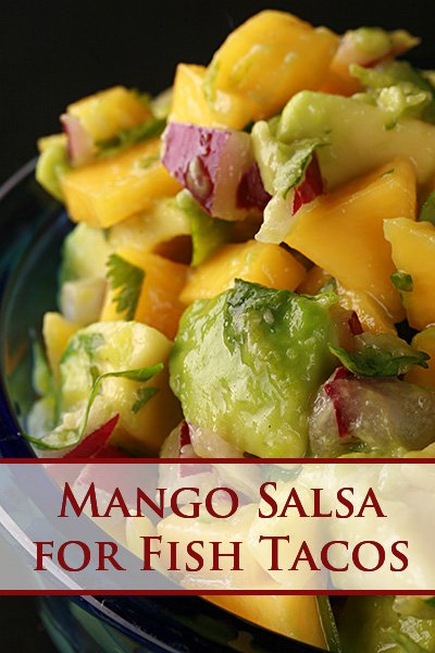 Mango Salsa for Fish Tacos